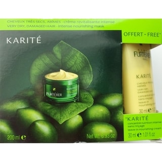Rene Furterer Karite Nourishing Mask & Intensive Leave-In Cream