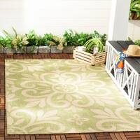 Martha Stewart by Safavieh Bloomfield Beach Grass / Green Area Rug - 8' x 11'2