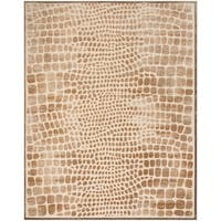 Martha Stewart by Safavieh Brown Viscose Area Rug - 8' x 10'