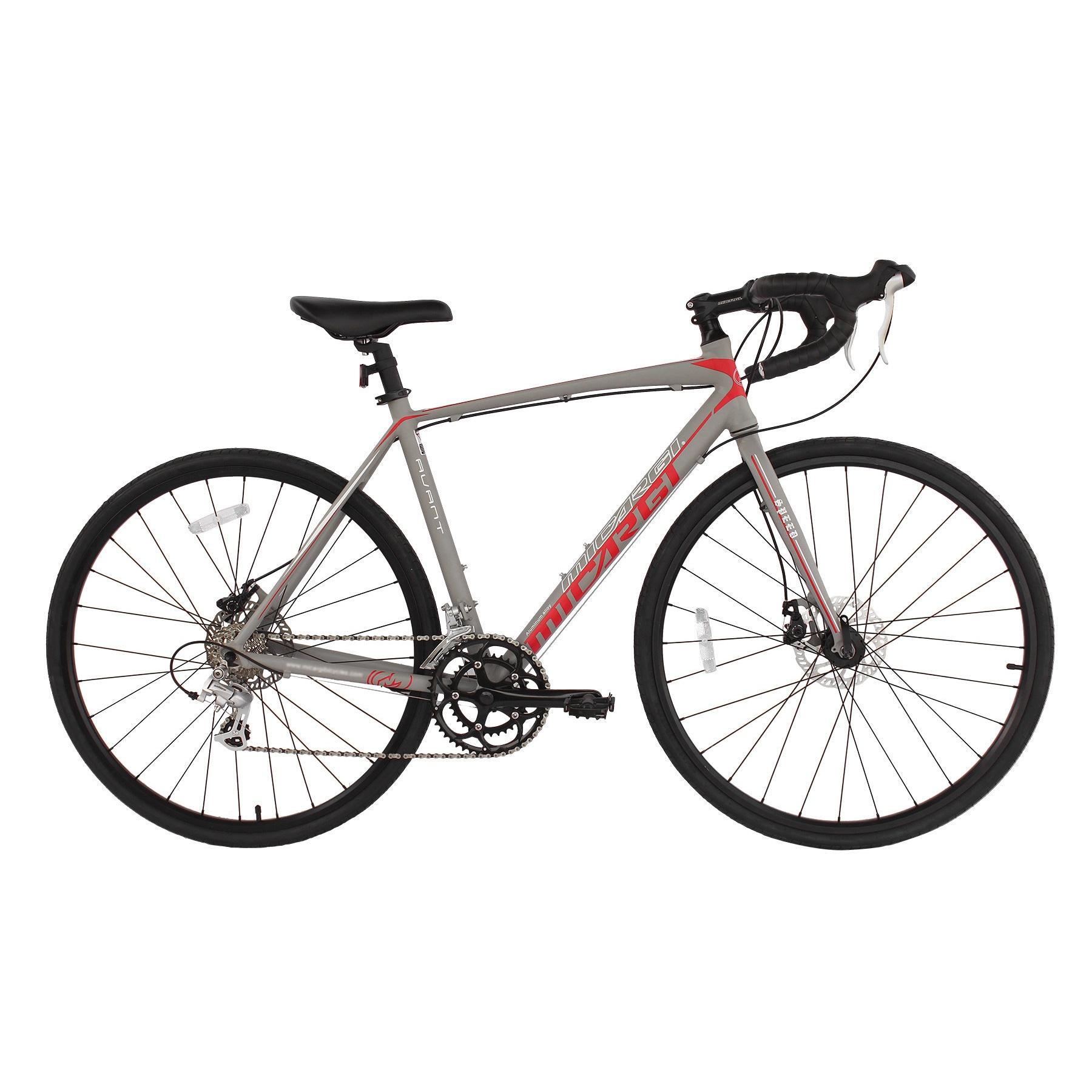 Micargi Unisex Avant 53-centimeter Road Bike (Grey)