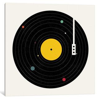 iCanvas 'Music Everywhere' by Florent Bodart Canvas Print