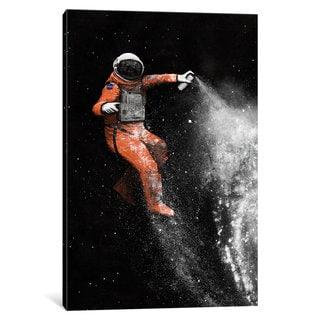 iCanvas 'Astronaut' by Florent Bodart Canvas Print