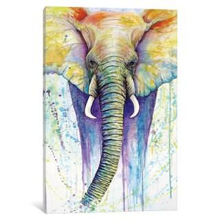 iCanvas 'Elephant Colors' by Michelle Faber Canvas Print