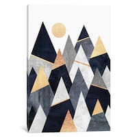 iCanvas 'Fancy Mountains' by Elisabeth Fredriksson Canvas Print