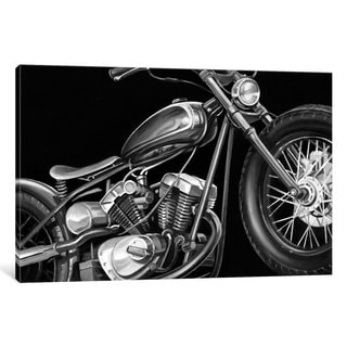 iCanvas Vintage Motorcycle I by Ethan Harper Canvas Print