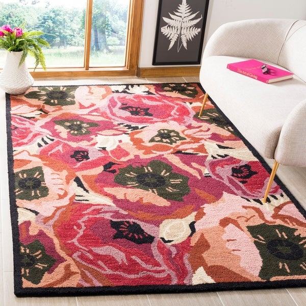 Shop Martha Stewart By Safavieh Poppy Red Red Pink