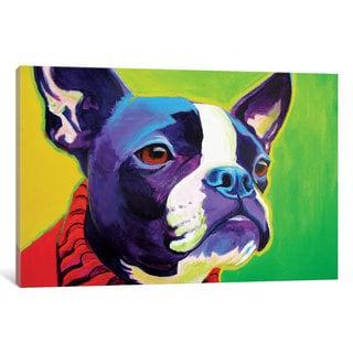 iCanvas 'Ridley' by DawgArt Canvas Print