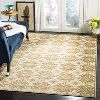 Martha Stewart by Safavieh Tan / Brown Viscose Area Rug - 8' x 10'