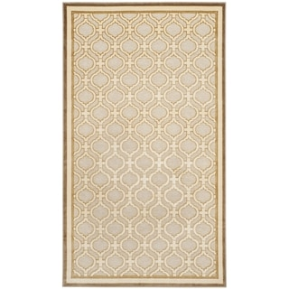 Martha Stewart by Safavieh Shortbread / Beige Viscose Area Rug (2'7 x 4')