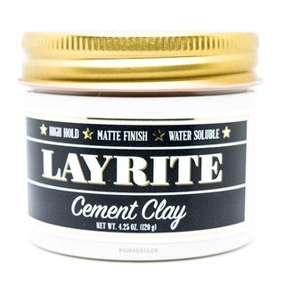 Layrite 4-ounce Cement Matte Clay