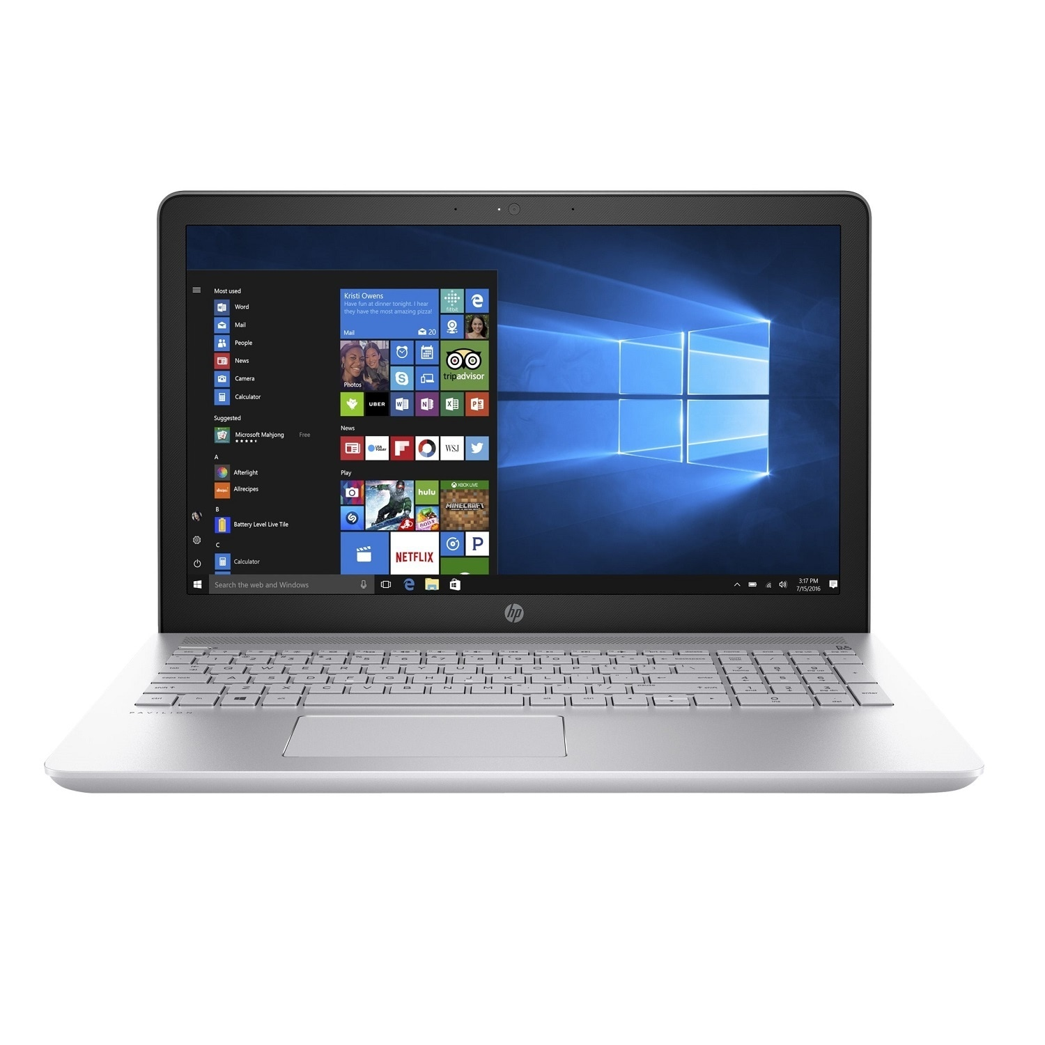 HP Pavilion 15-CC010NR Touchscreen Notebook with Intel i5...