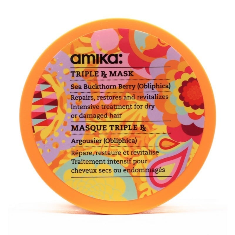 Amika 16.9-ounce Triple Rx Mask (16.9-ounce), Pink berry