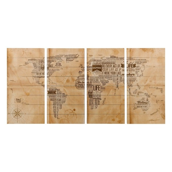 Shop empire art world map fine art giclee printed on solid fir empire art world map fine art giclee printed on solid fir wood planks gumiabroncs Image collections