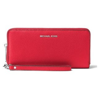 Michael Kors Mercer Travel Continental Bright Red Travel Wallet|https://ak1.ostkcdn.com/images/products/15456257/P21904552.jpg?impolicy=medium