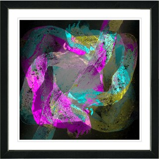 Studio Works Modern Framed Contemporary Fine Art Abstract Painting 'Voice of Odin' Wall Art Giclee Print by Zhee Singer