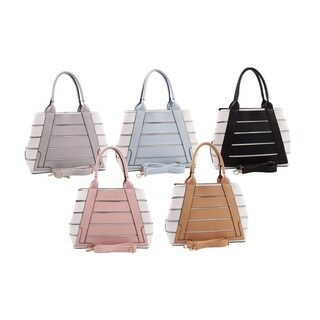 MKF Collection Beijing Tote with Shoulder Strap by Mia K. Farrow