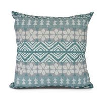 FairIsle, Geometric Print Outdoor Pillow