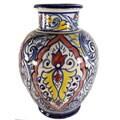 Casablanca Handmade Ceramic Vase (Morocco)