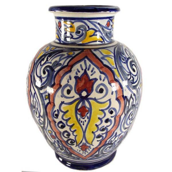 Shop Casablanca Handmade Ceramic Vase Morocco Free Shipping