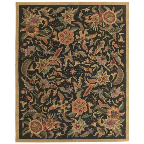 Black Traditions Paradise Wool Rug