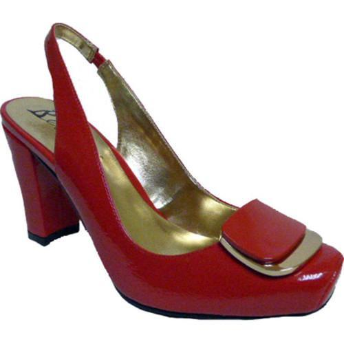 Clearance sale Women Bellini Gypsy Slingback Red Patent Polyurethane