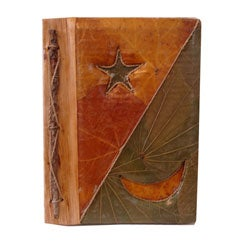 Hand-crafted Star/Moon Diamond Photo Album from Indonesia (20 Photos)