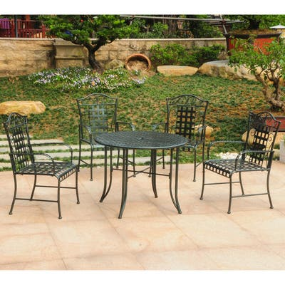 Green Wrought Iron Patio Furniture Find Great Outdoor