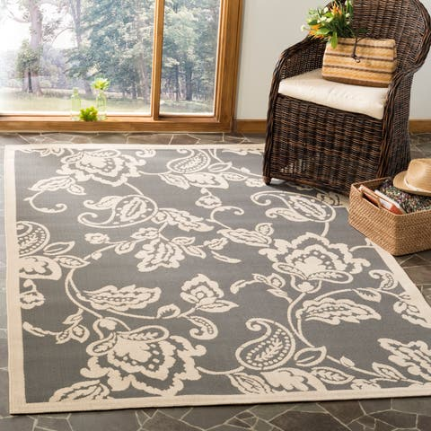 Martha Stewart by Safavieh Highland Lily Indoor/ Outdoor Rug