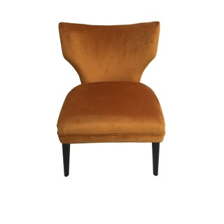 Briar Chair Burnt Orange Mistral Velvet