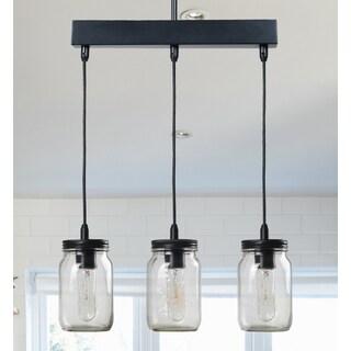 Design Craft Mason 3-light Island Light