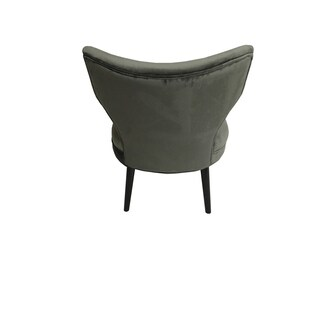Briar Chair Grey Mistral Velvet