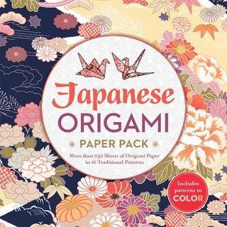 Sterling Publishing-Japanese Origami Paper Pack