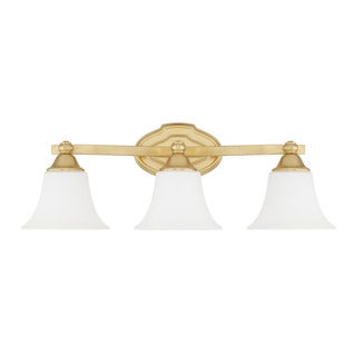 Capital Lighting Blakely Collection 3-light Capital Gold Bath/Vanity Light