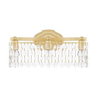 Capital Lighting Blakely Collection 3-light Capital Gold Bath/Vanity Light