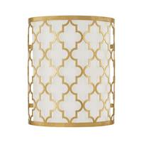 Capital Lighting Ellis Collection 2-light Capital Gold Wall Sconce