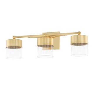 Capital Lighting Donny Osmond Regan Collection 3-light Capital Gold LED Bath/Vanity Light