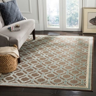 Martha Stewart by Safavieh Arrowroot / Green Viscose Area Rug (4' x 5'7)