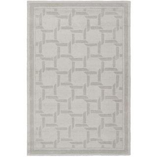 Martha Stewart by Safavieh Resort Weave Driftwood / Grey / Grey Wool Area Rug (4' x 6')