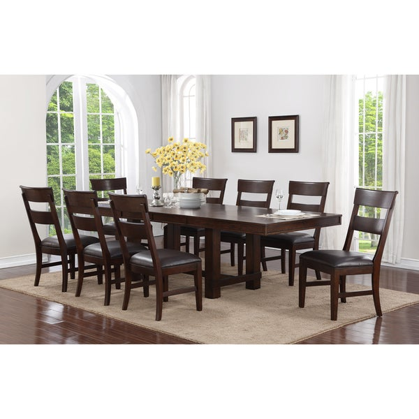 Genial Alden 9 Piece Dining Set