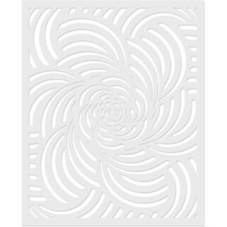 "Hero Arts Stencil 6.25""X5.25""-Spiral Petals"