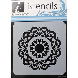"iStencils 11""X11""-Aztec Mandala"