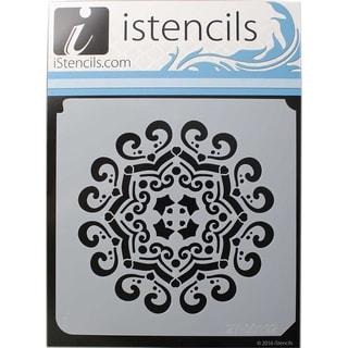 """iStencils 11""""X11""""-Love Mandala"""