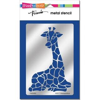 Stampendous Metal Stencil-Giraffe