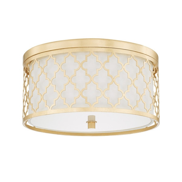 gold flush mount light bathroom ceiling light capital lighting ellis collection 3light gold flush mount shop