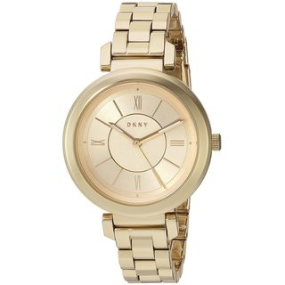 DKNY Women's NY2583 'Ellington' Gold-Tone Stainless Steel Watch