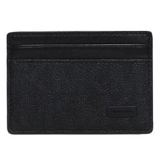 Michael kors Jet Set Logo ID Black Card Case
