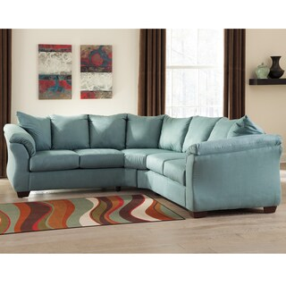 Signature Design by Ashley Darcy Sectional in Fabric
