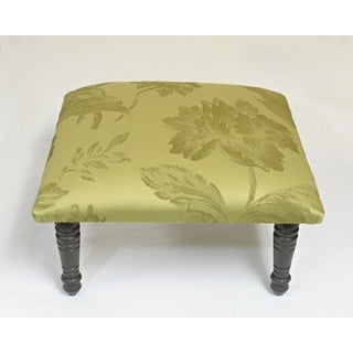 Corona Decor Fauna Design Green Footstool