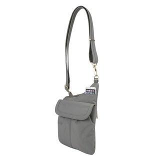 Travelon Anti-Theft Signature Slim Crossbody Bag