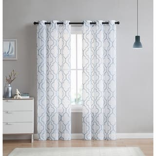 VCNY Home Charlotte Embroidery Sheer Panel Pair|https://ak1.ostkcdn.com/images/products/15614267/P22048038.jpg?impolicy=medium